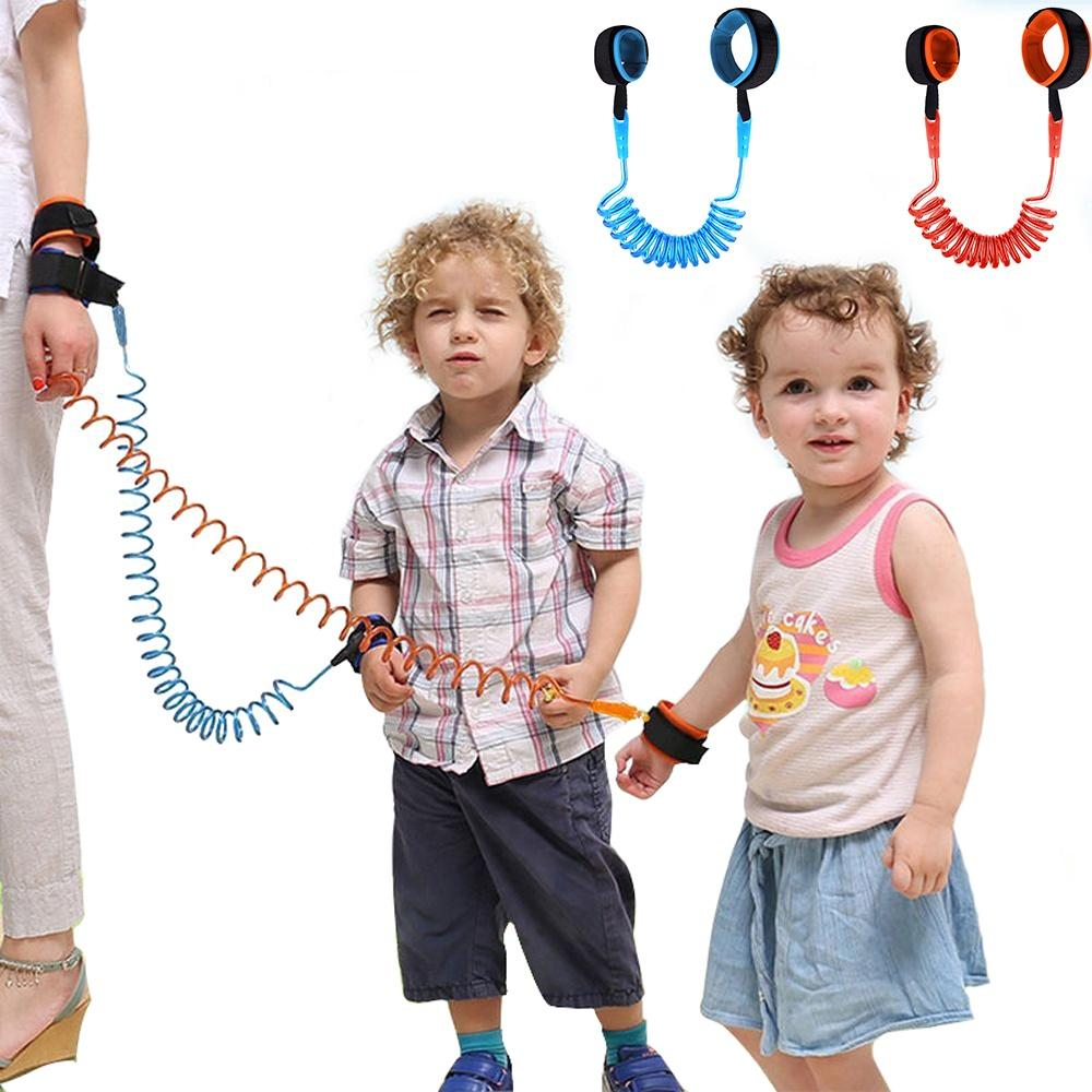 2.5M Baby Child Anti Lost Safety Wrist Link Harness Strap Rope Leash Walking Hand Belt Band Wristband for Toddlers