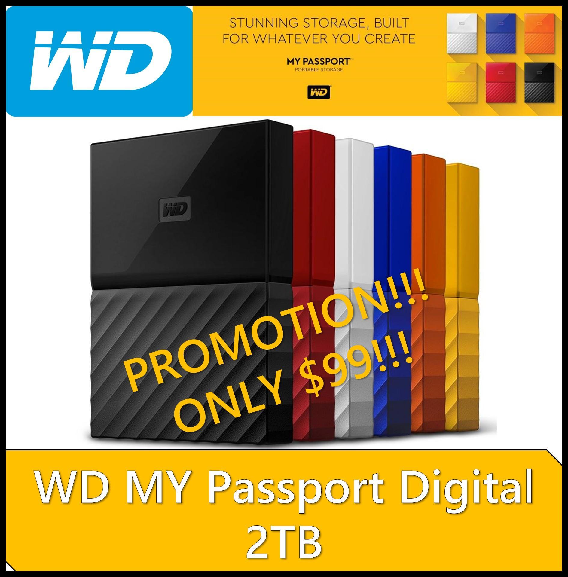 Tempat Jual Wd My Passport Ultra Portable Storage Hard Disk Police 14544jsb 02 Merah Buy External Drives Online Xooes Eksternal Black Grey