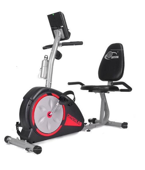 JIJI Premium Home Recumbent Bike (FREE Installation) - Silver/Black Bikes / Cardio