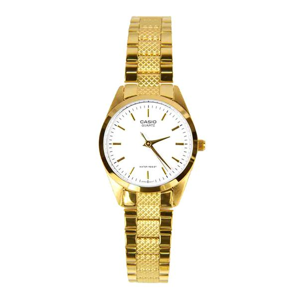 Casio Women's Gold Stainless Steel Strap Watch LTP1274G-7A LTP-1274G-7A