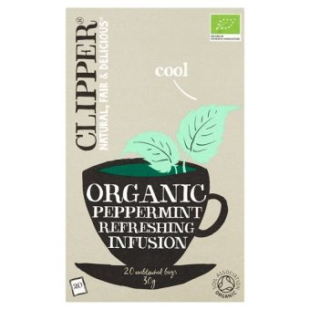 Clipper Organic Infusion Peppermint Tea - 20TB