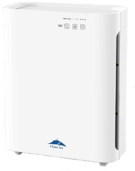 Clean Air AP-777 New Model TRUE HEPA Activated Carbon UV Air Purifier