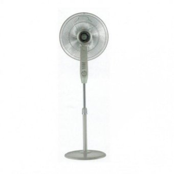 "Mistral 16"" stand fan with timer / light grey"