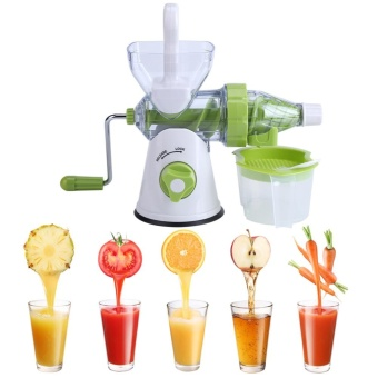 Multi-function Manual Orange Fruits Vegetable Juicer MachineKitchen Fresh Juice Extractor - intl