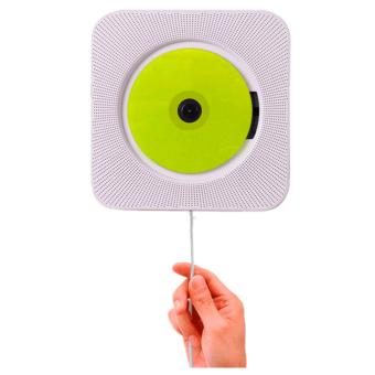 Bluetooth Wall-mountable Portable CD Player Music System - intl