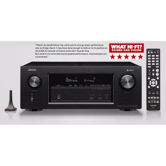 Denon 7.2 Channel Dolby Atoms AV Receiver AVR-X2400H (Black)