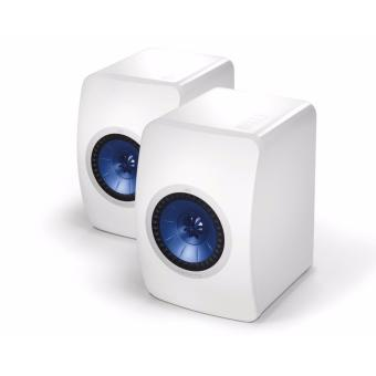 KEF LS50W Wireless Bluetooth Stereo Speaker - White