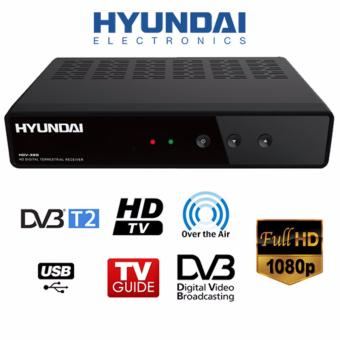 Mediacorp Approved Digital Terrestrial Receiver DVB-T2 with Free DVB-T2 Receiver