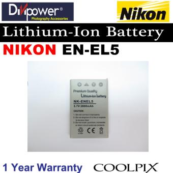 Nikon EN-EL5 Lithium-ion Battery for Coolpix Camera by Divipower