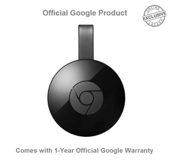 Official Google Chromecast 2 HDMI Media Streaming Device