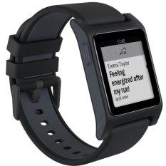 Pebble 2 + Heart Rate Smart Watch - Black/black - Intl