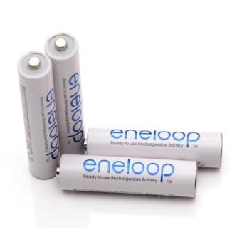 Sanyo - Eneloop Rechargeable AAA Batteries, HR-4UTGB4TM