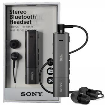 SONY SBH54 Stereo Bluetooth Headset (Black)