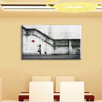 Huge Buddha Abstract Canvas Art Oil Painting Modern Home Wall Decor Set No Frame Intl Lazada