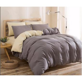 4 in 1 King size - Bed-sheet Set - 1 Bed Sheet + 2 Pillow Cases + 1 Quilt Cover