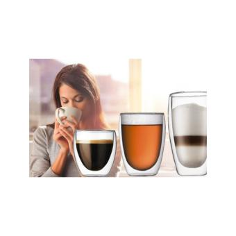 4 x Double Wall Insulated Cups 350ml