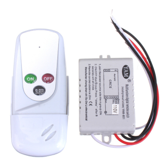 anti interference 110v wireless 1way light lamp remote on. Black Bedroom Furniture Sets. Home Design Ideas