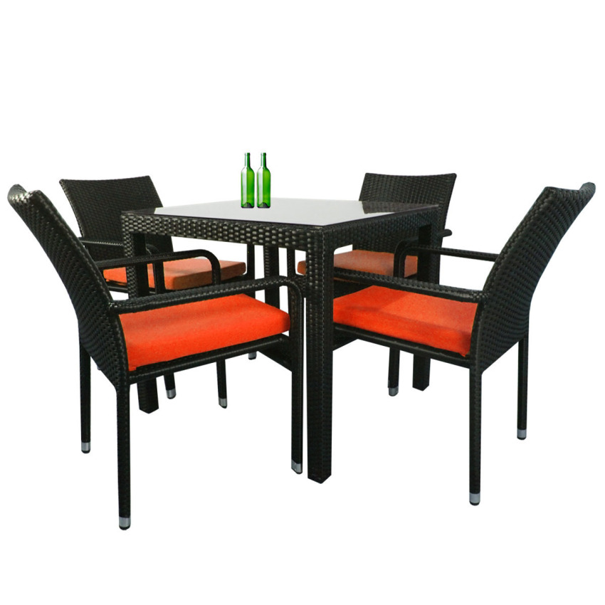 210x193x97cm Waterproof Outdoor Garden Patio Furniture  : arena living palm 4 chair dining set orange cushion 3656 943691 ba2bef397e802595ca6bd5011021a6c8 zoom from www.lazada.sg size 850 x 850 jpeg 85kB