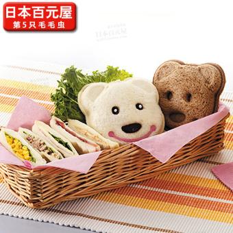 Bear sandwich production mold