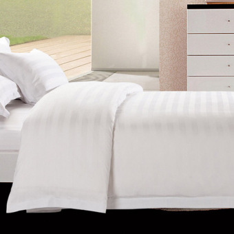 Cotton pure white cover one-piece linen sheets