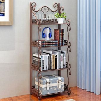 European-style Floor Iron Storage Rack