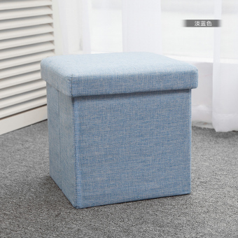 Folding fabric Toy storage changing his shoes stool storage stool