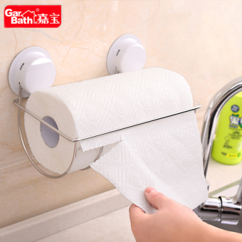 Garbath solid Full stainless steel kitchen roll holder towel rack