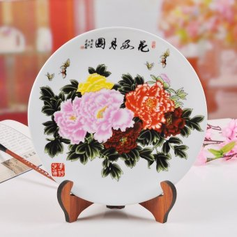 Hanging plate decoration plate jingdezhen ceramic home furnishing living  room set modern home craft jewelry. Taobao home place furniture store  Popular home place furniture