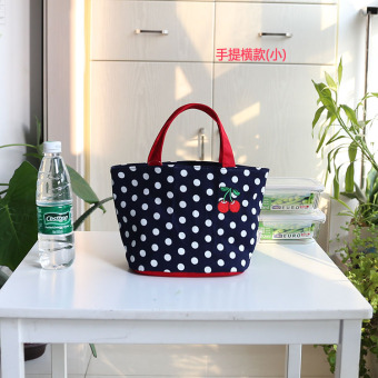 Japan and South Korea denim shopping and storage boxes bags