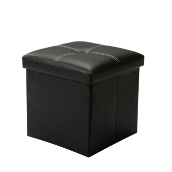Jian Mo leather man candy color changing his shoes stool storage stool