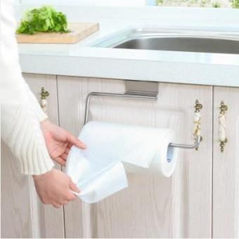 Kitchen stainless steel large napkins paper towel rack