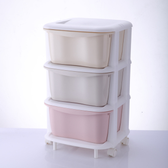 Macarons color multi-layer storage drawer storage cabinets