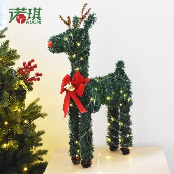 Nuo Christmas decorations Christmas elk