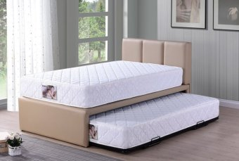 Single size 5 in 1 Single Pull-out Bed with Spring mattress - Beige