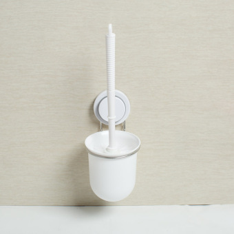 Toilet cleaning brush holder bathroom toilet brush