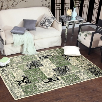 Van Town Carpet Living Room American Country Minimalist Pattern Coffee Table Mats Bed