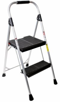 Werner Aluminum Step Stool Household Ladder 225lbs 2