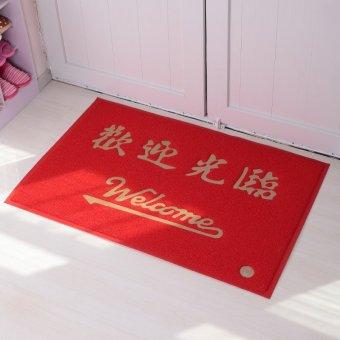 Wire loop mats welcome/safely doormat home elevator door dust slip foot mat