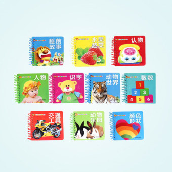 And young children tear is not bad early childhood book0-3-6-year-old baby ENLIGHTEN toys cognitive digital to see Figureliteracy card