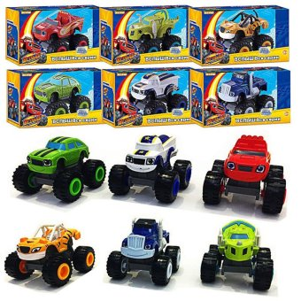 Kids Blaze And The Monster Machines Vehicles Racer Car Toys GoodGifts - intl