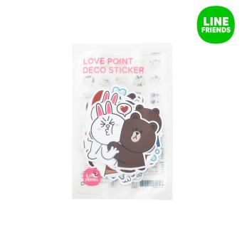 LINE FRIENDS POINT DECO STICKERS_LOVE