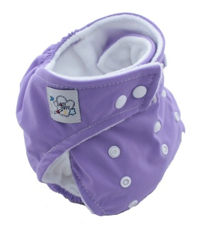PAlight Baby Adjustable Soft Nappy Cloth Diapers Covers (Purple)