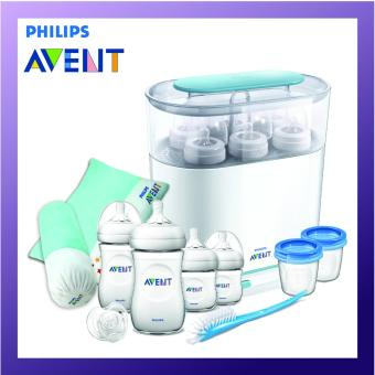 Philips Avent 3 in 1 Sterilizer Steam Bundle Set
