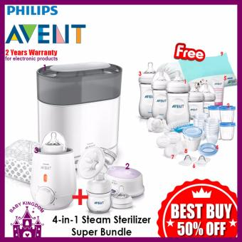 Philips Avent 4 in 1 Sterilizer Super Bundle
