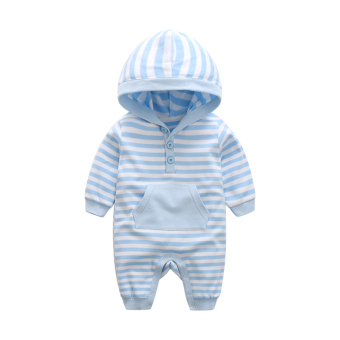 Qiudong cotton newborns romper baby climb clothes