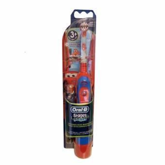 Braun Oral-B Advance Stages Power Kids Battery Toothbrush DisneyCars for 3+