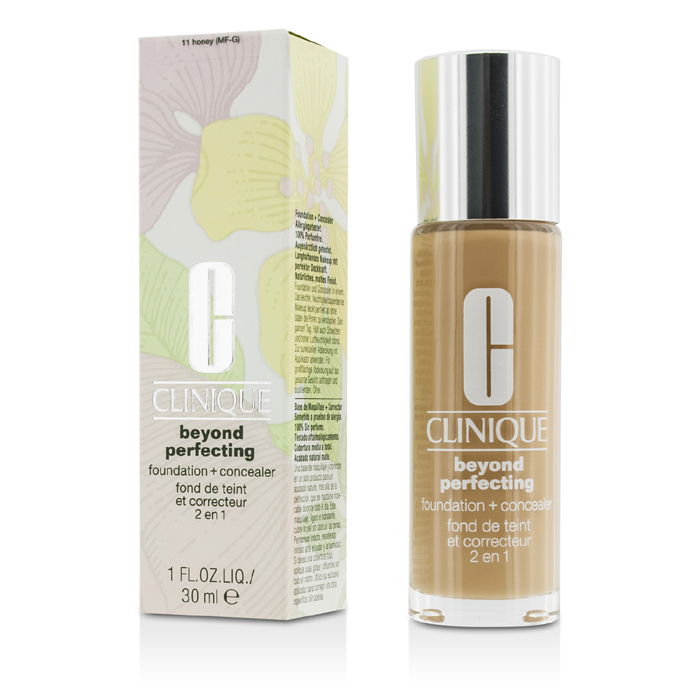 Clinique Beyond Perfecting Foundation & Concealer - # 11 Honey (MF ...