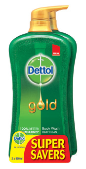 Dettol Shower Gel Daily Clean 950Ml P&P x 2