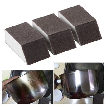 Magic diamond sand to dirt in addition to iron rust cleaning kitchen sponge