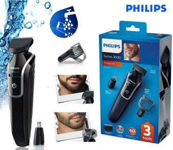 philips qg3320 beard and nose trimmer with 0 5mm precision lazada singapore. Black Bedroom Furniture Sets. Home Design Ideas